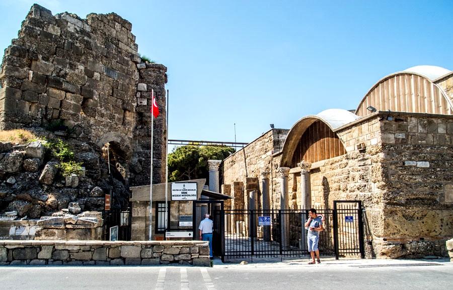 Экскурсия по археологическому музею Сиде