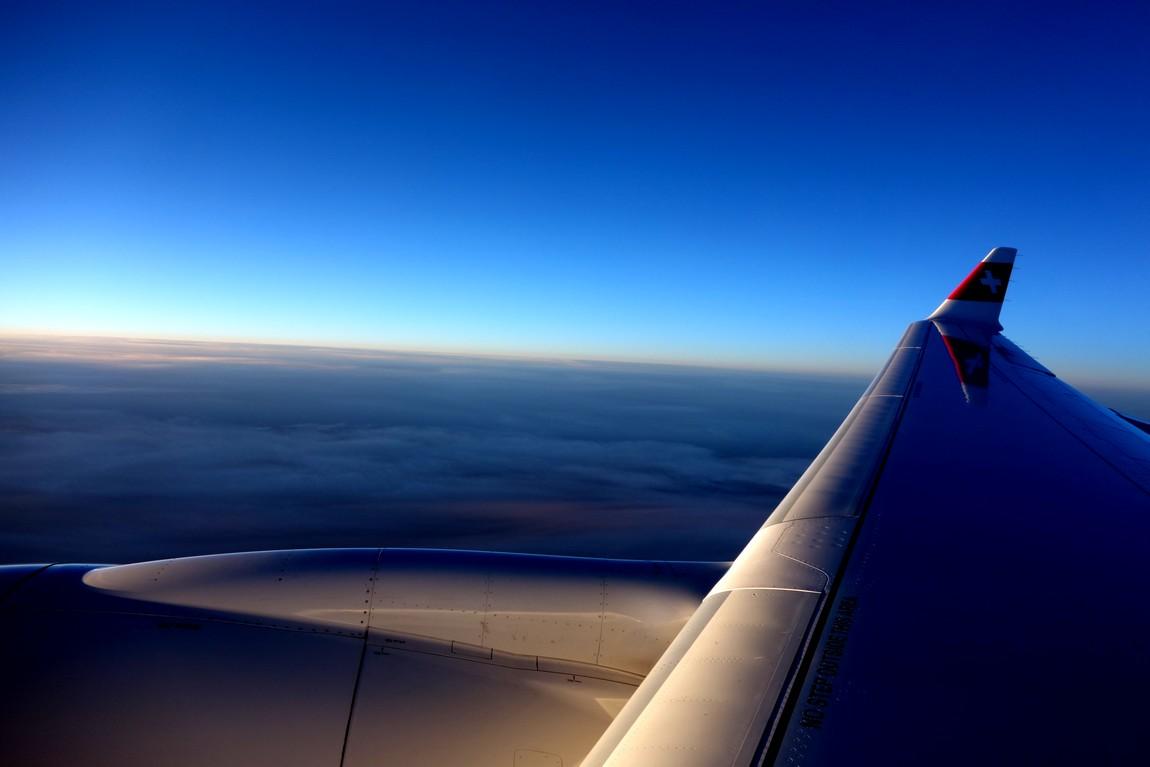 Полёт на высоте 12 000 м.