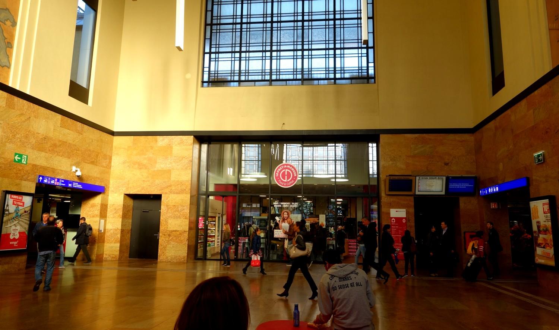 Вокзал в Женеве