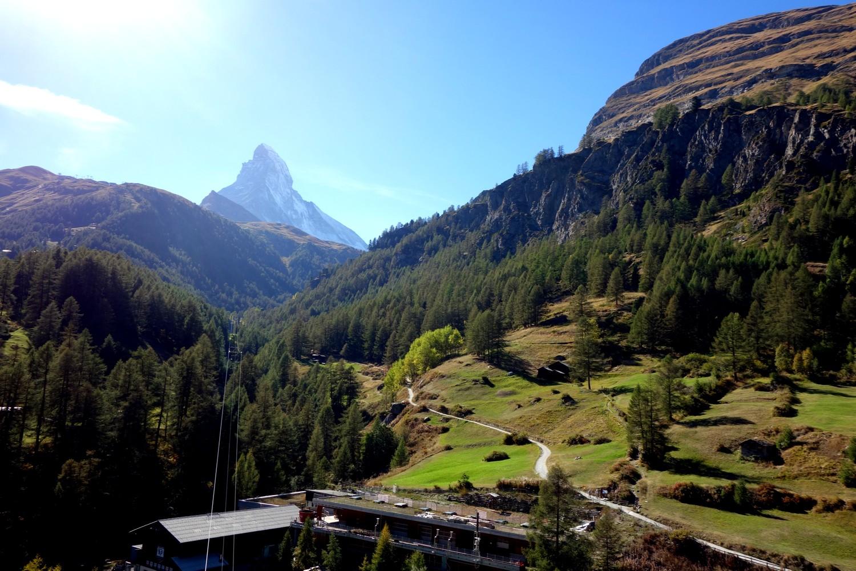 Горы Швейцарии и Маттерхорн