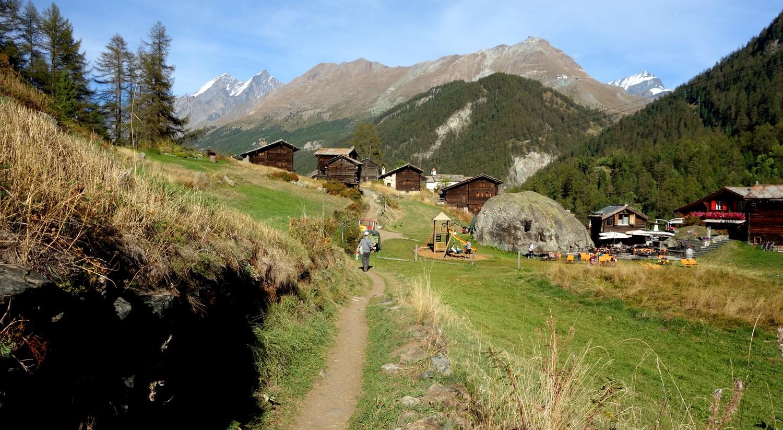 По тропе в Швейцарии