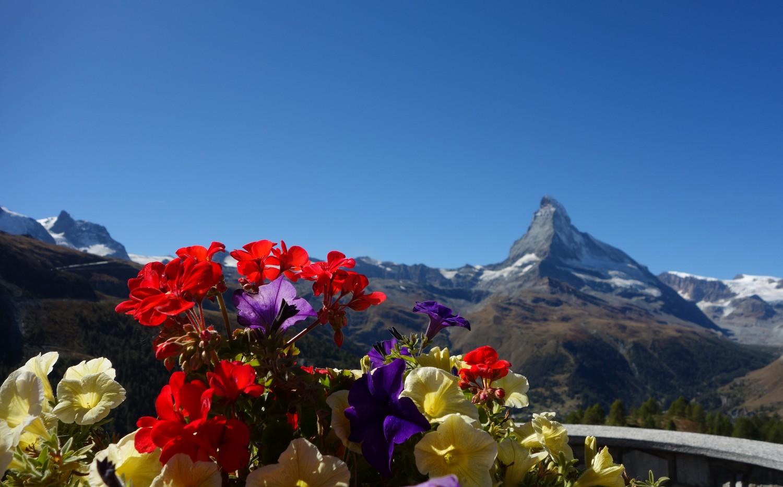 Красота вершины Маттерхорн.