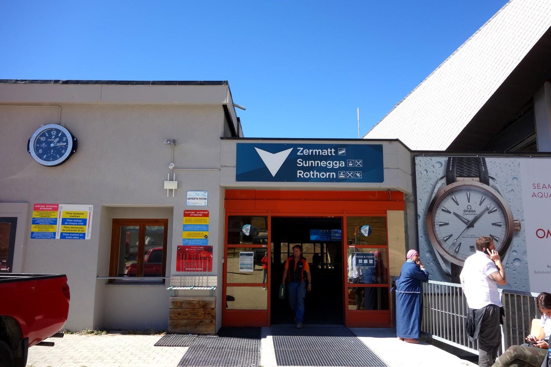 Станция канатки Rothorn - Церматт