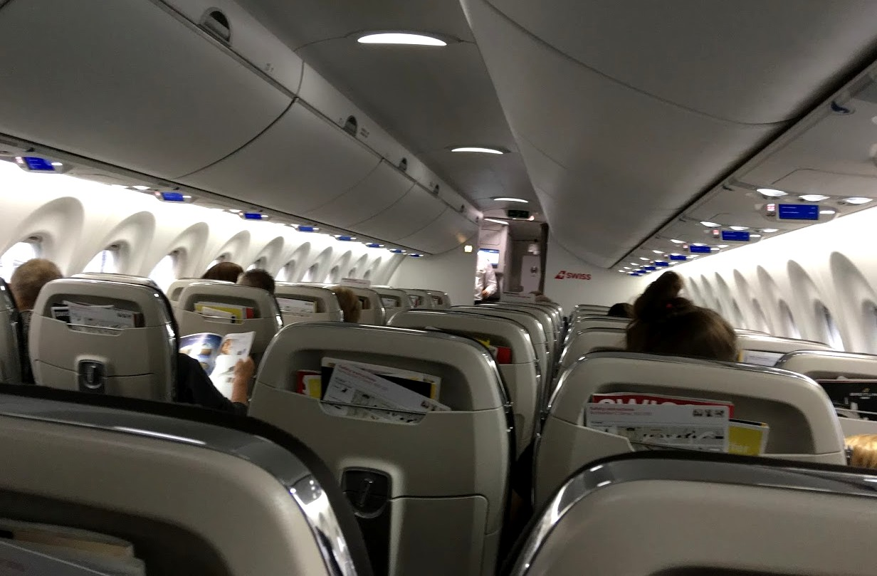 Самолёт до Женевы