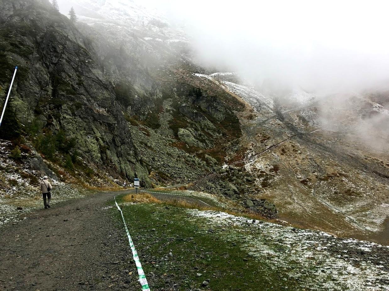 Вид на горы - канатная дорога Fligere.
