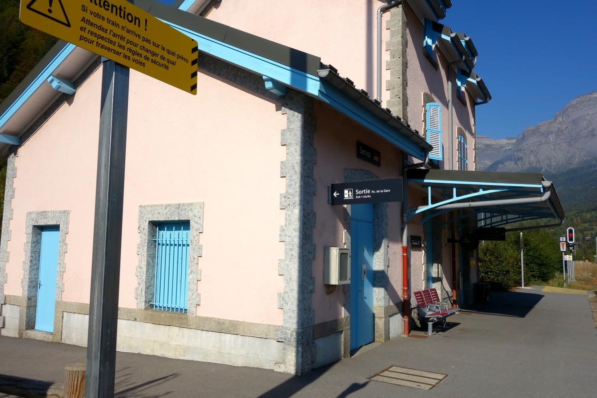 Станция ж/д (Servoz)- недалеко от Шамони
