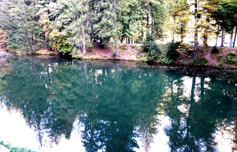 Озеро Синклер в Шамони
