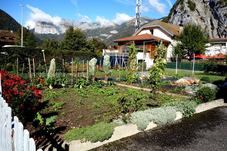 Thônes (Тонс) - Франция (огороды)