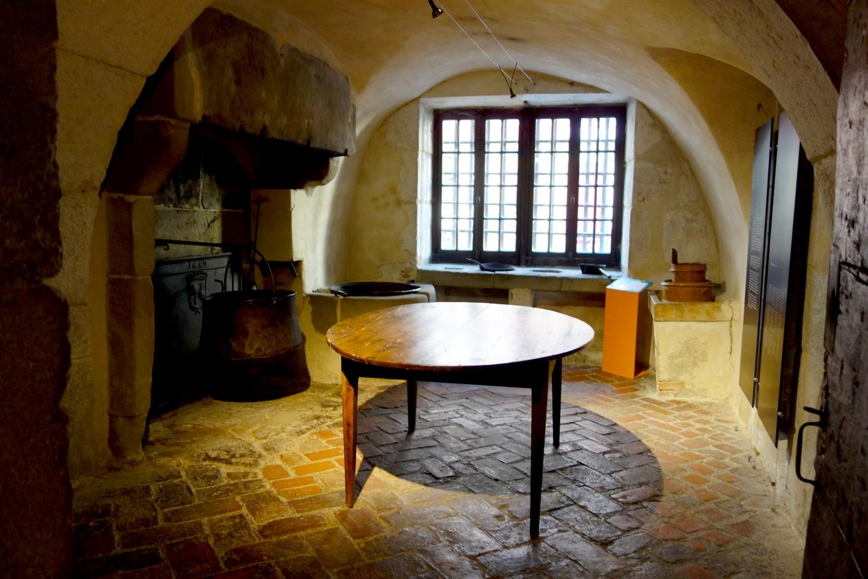 Кухня замка-тюрьмы де Л'Иль