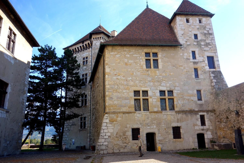 Замок Château d'Annecy - Logis Perrière