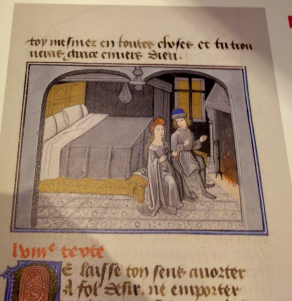 Страница книги замка Анесси
