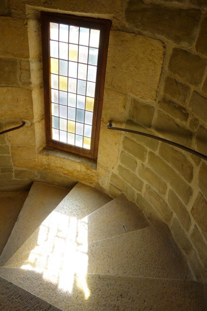 лестницы замка Анесси