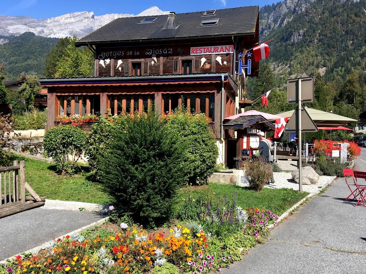 Ресторан в деревне