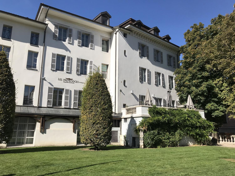 Отель Privilodges Le Royal - Apparthotel  3 *   в Анси