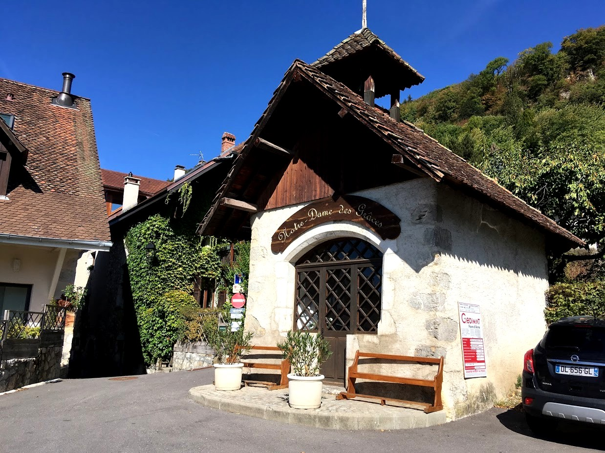 Домики в деревне Франции